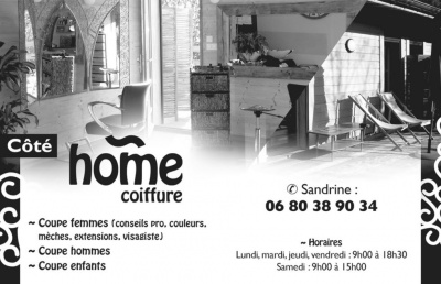 Home coiffure