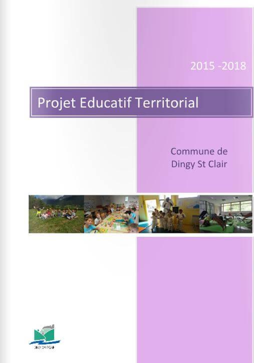 Projet Educatif et territorial - Dingy Saint Clair