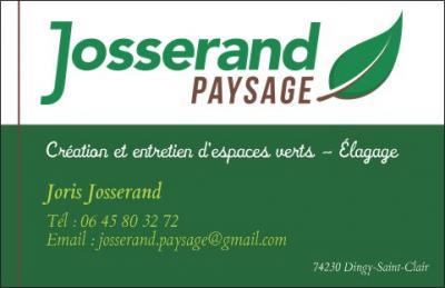 Josserand paysage recto