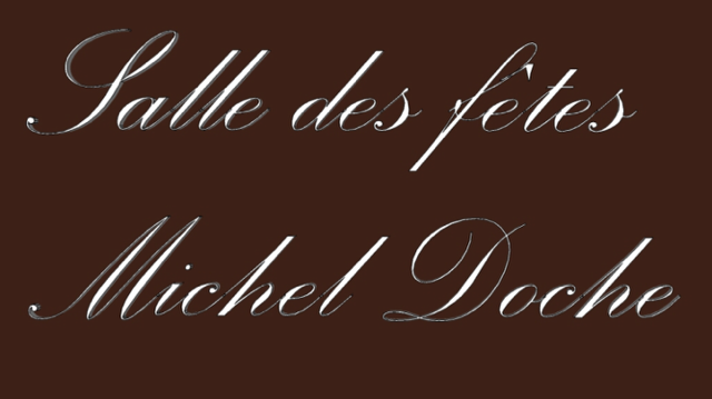 Plaque Salle Michel Doche