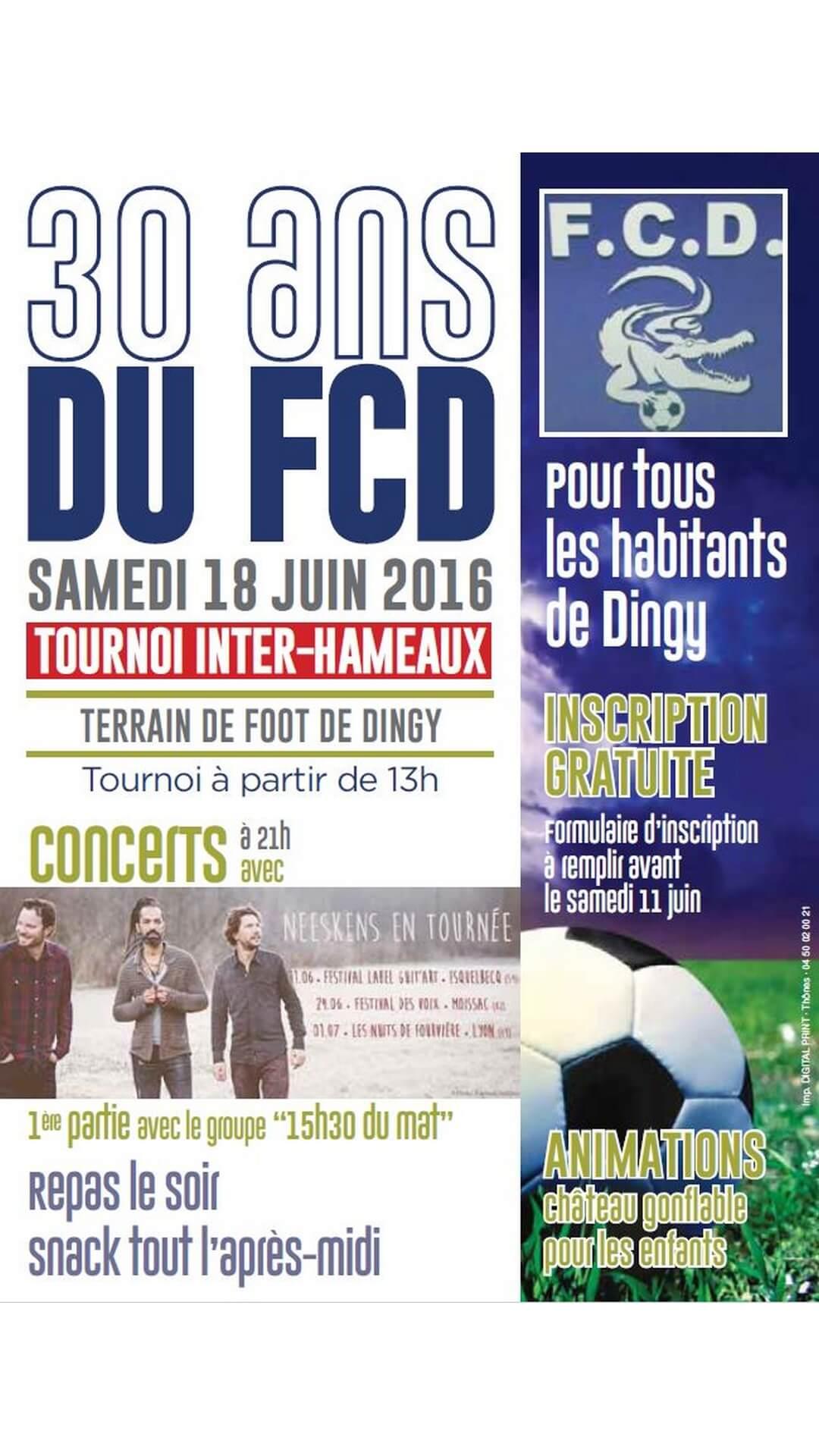 30 ans FCD