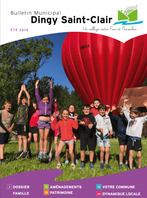 Bulletin municipal Dingy Saint Clair - été 2019